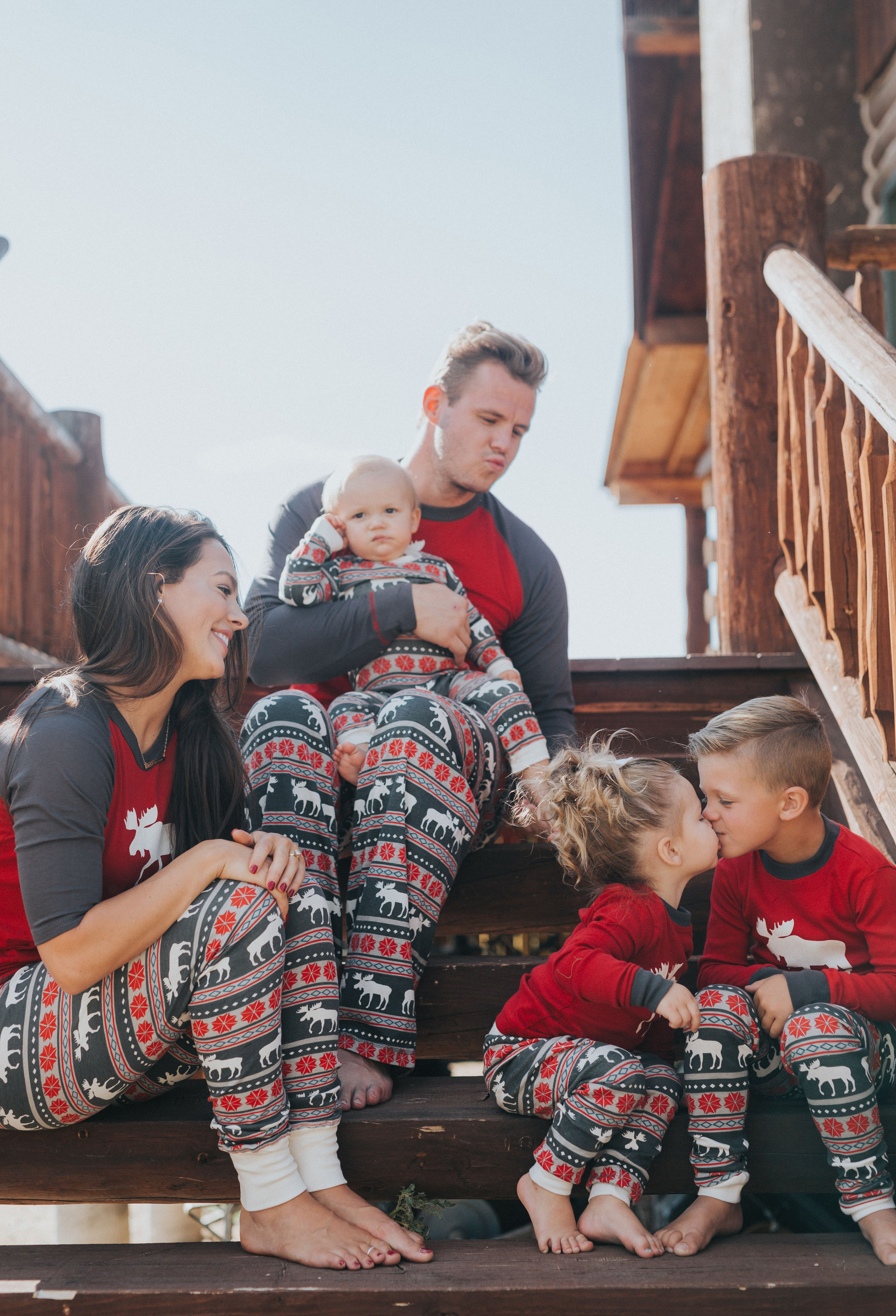 Matching Christmas pajamas for the whole family! | xmas | Pinterest ...