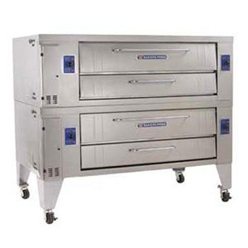 "Bakers Pride Y802 - Gas Pizza Deck Oven, 2 Decks, 66""Wx44""D Interior"