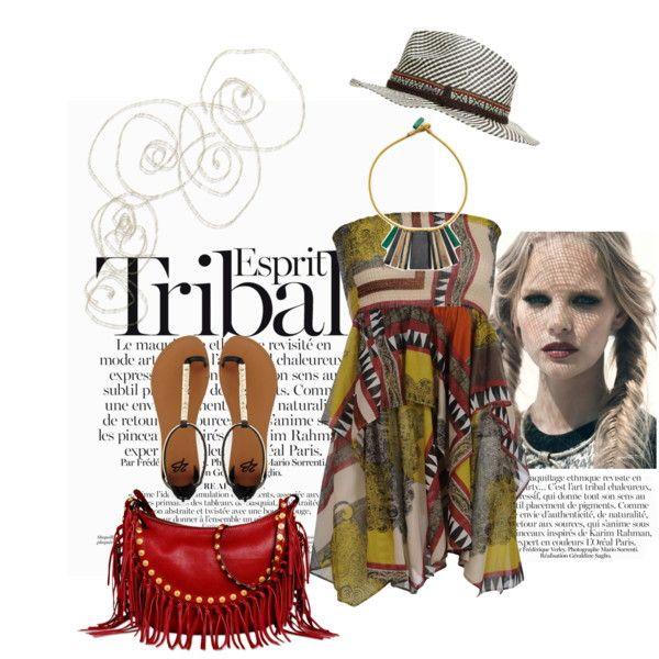 32 tribal print
