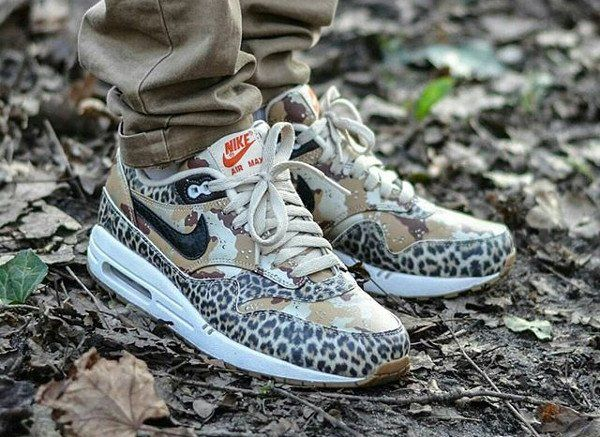 X Max 2013 Animal LeopardhoudelalyMen's 1 Atmos Camo Air Nike HWDIE92