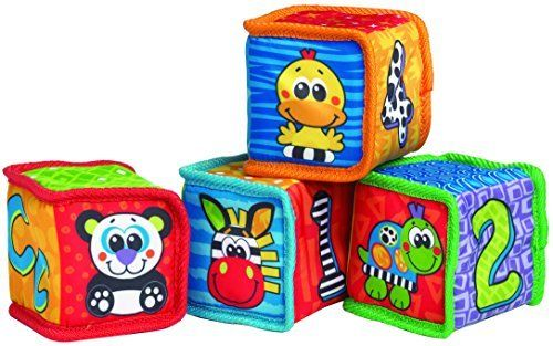 Playgro Grip And Stack Soft Blocks For Baby Model 183076 Toys Play