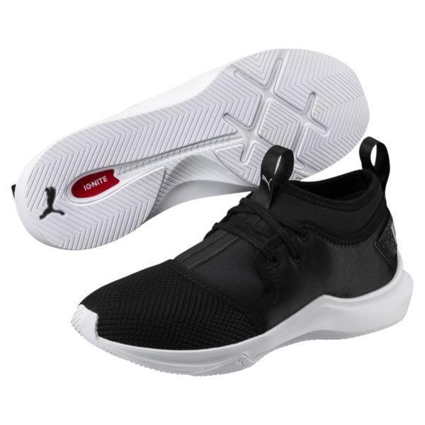 buy online a4e33 e680c Phenom Satin Lo En Pointe Women s Training Shoes, Puma Black-Puma White,  medium