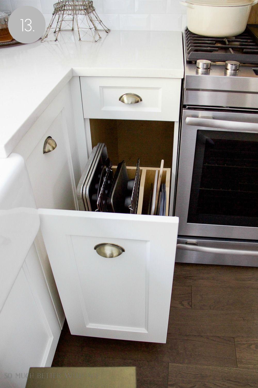 Kitchen Cupboard and Drawer Organization | Kitchen ...
