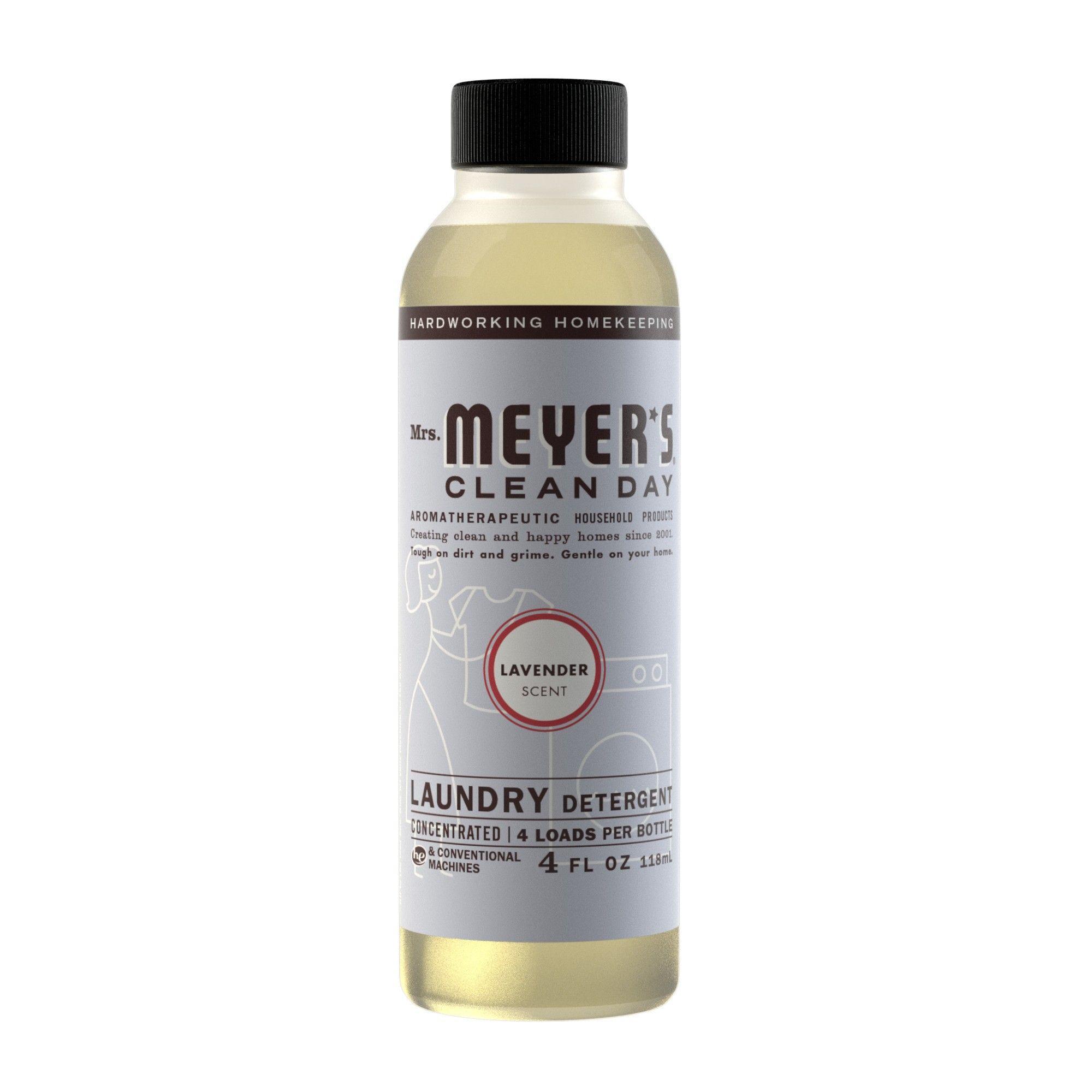 Mrs Meyer S Lavender Scented Laundry Detergent 4 Fl Oz