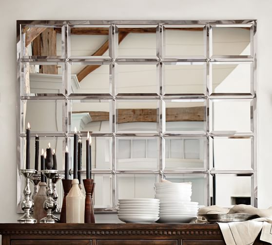 Eagan Multipanel Mirror Large Cottage Farmhouse Decor