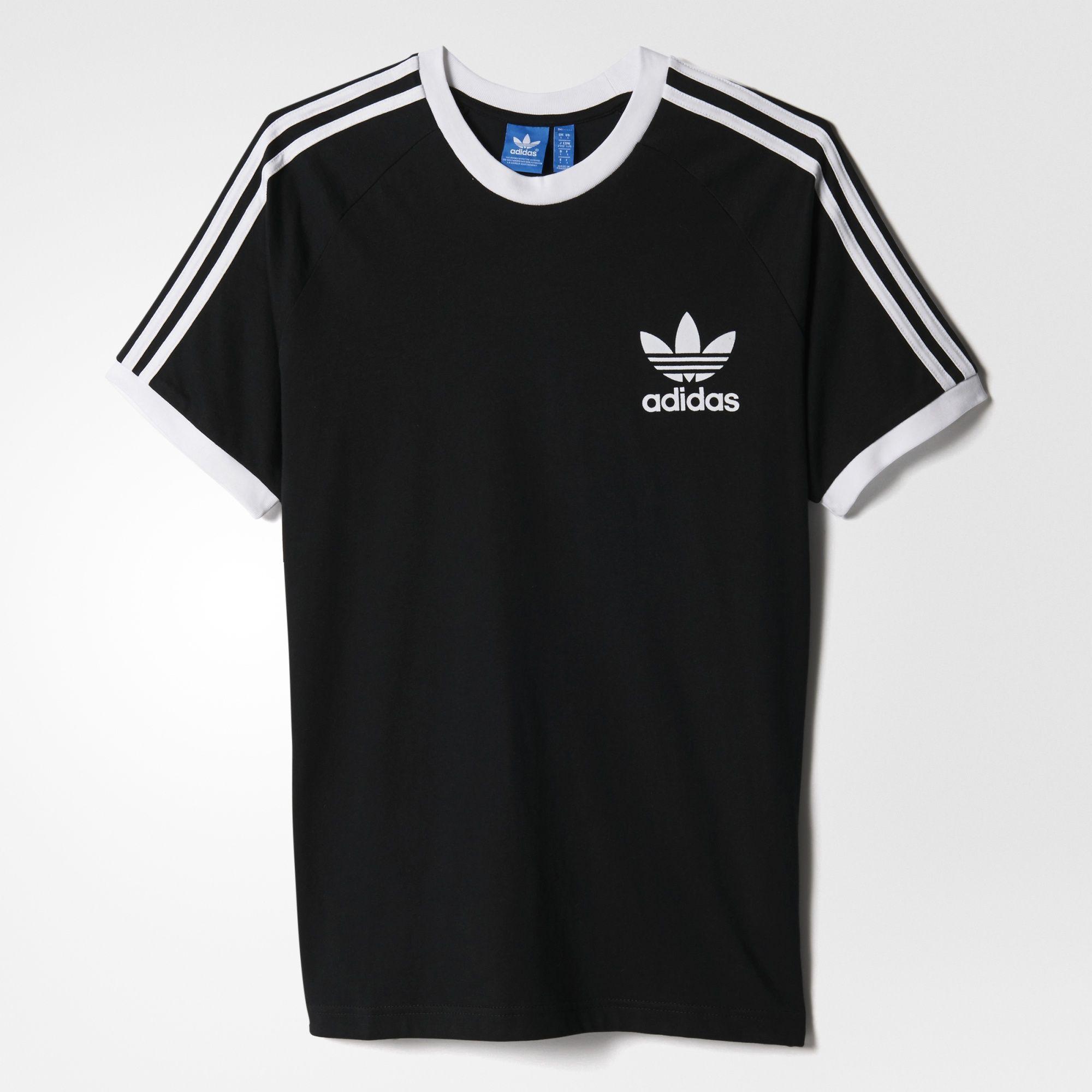 adidas CLFN Tee - Black   adidas UK