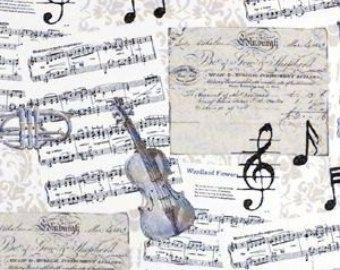 Music Note Full Apron