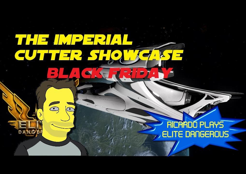 Elite Dangerous: Horizons Imperial Cutter Black Friday Paint