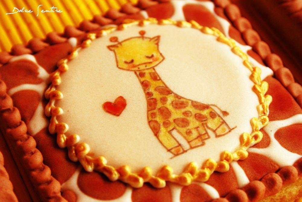Galletas 'Animal Print' de jirafa {Video Tutorial}