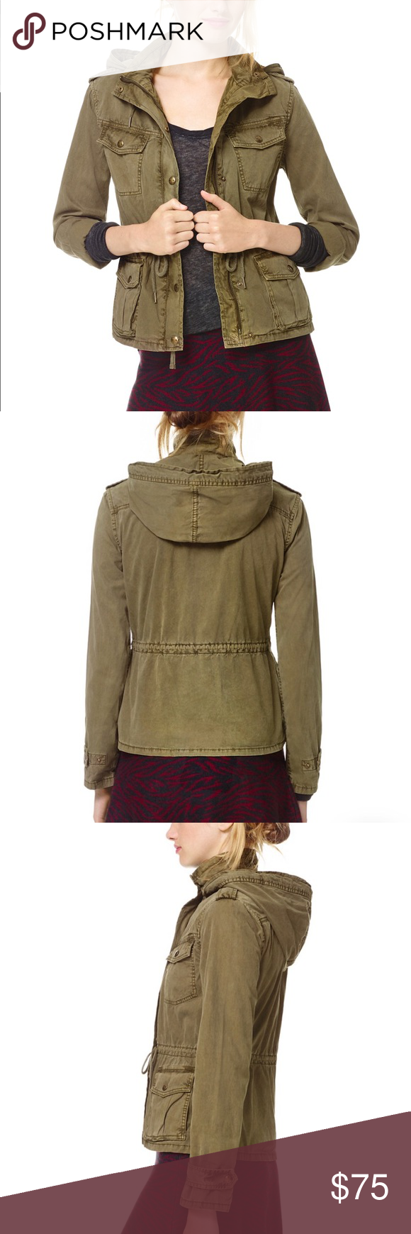 Aritzia Talula Troop Jacket Photos Coming Soon Inspired By An Authentic Military Jacket This Shrunken Jacket Was Trea Clothes Design Fashion Fashion Design [ 1740 x 580 Pixel ]
