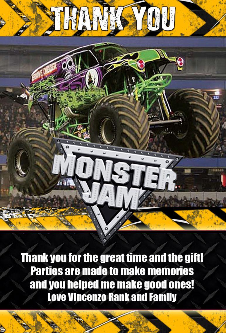 monster jam birthday monster trucks
