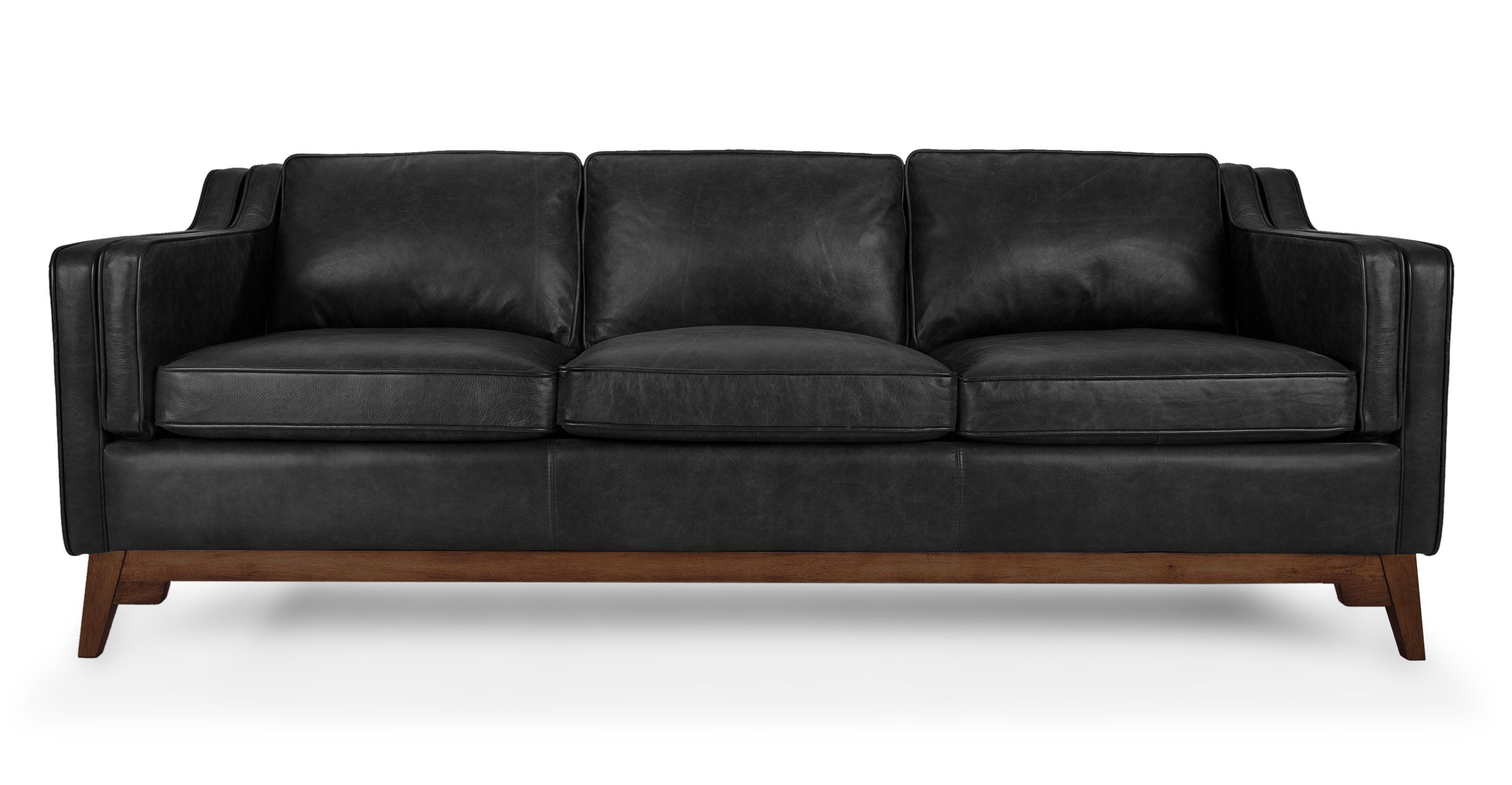 Worthington Oxford Black Sofa Brown Sofa Leather Sofa Furniture