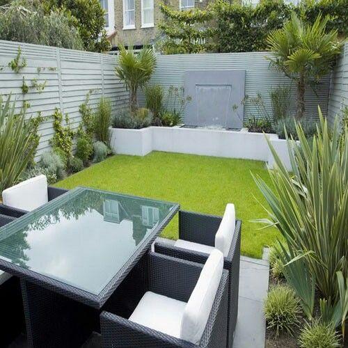 Pin de WT en Backyard Pinterest Terrazas, Patio pequeño y Jardines