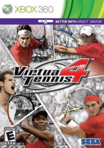 Virtua Tennis 4 Xbox 360 More Info Could Be Found At The Image Url Note It Is Affiliate Link To Amazon Sports Games For Kids Xbox 360 Xbox