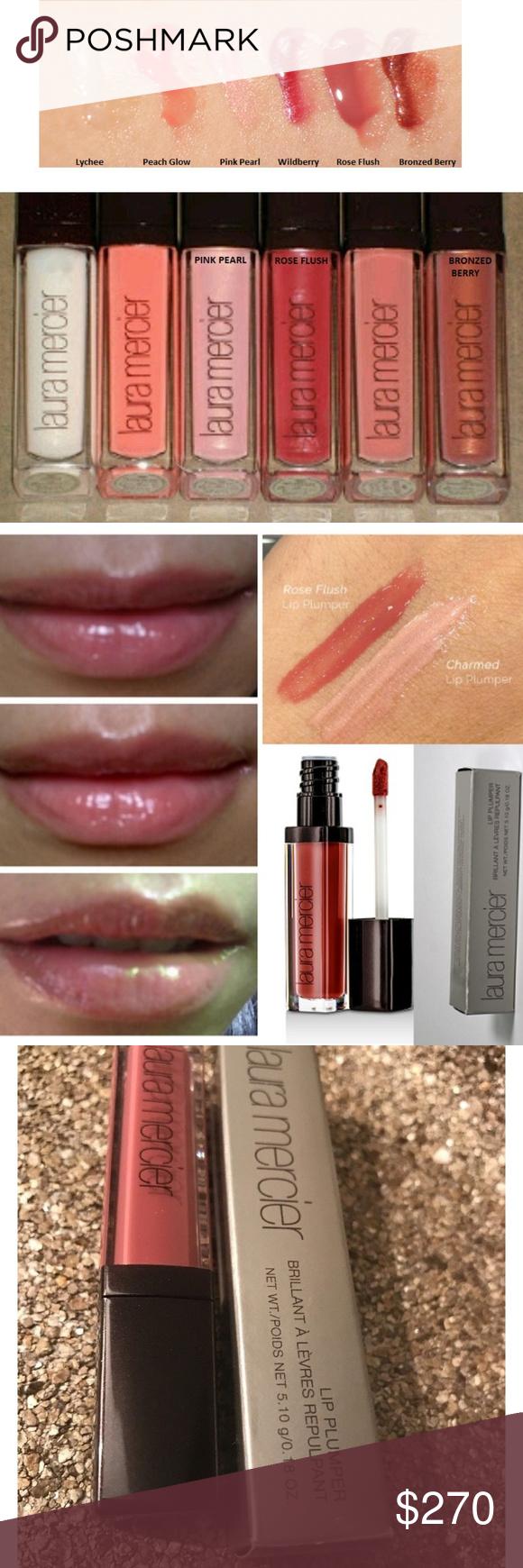 18pc Lot Laura Mercier Lip Plumper Gloss 3 Colors Lip Moisturizer Laura Mercier Plumping Lip Gloss