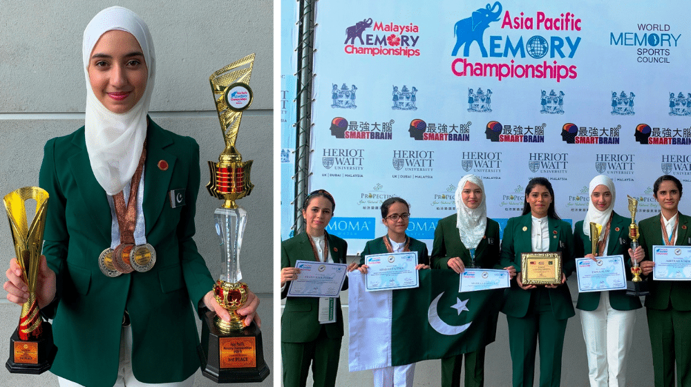 Emma Alam, Sania Alam, Abeerah Ather, Syeda Kisa Zehra   World Memory Championship   IHMD