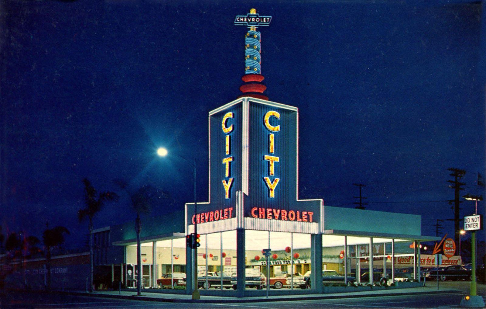 San Diego Ca City Chevrolet Dealership Located At Kettner Ash Photograph Chevrolet Dealership San Diego Chevrolet