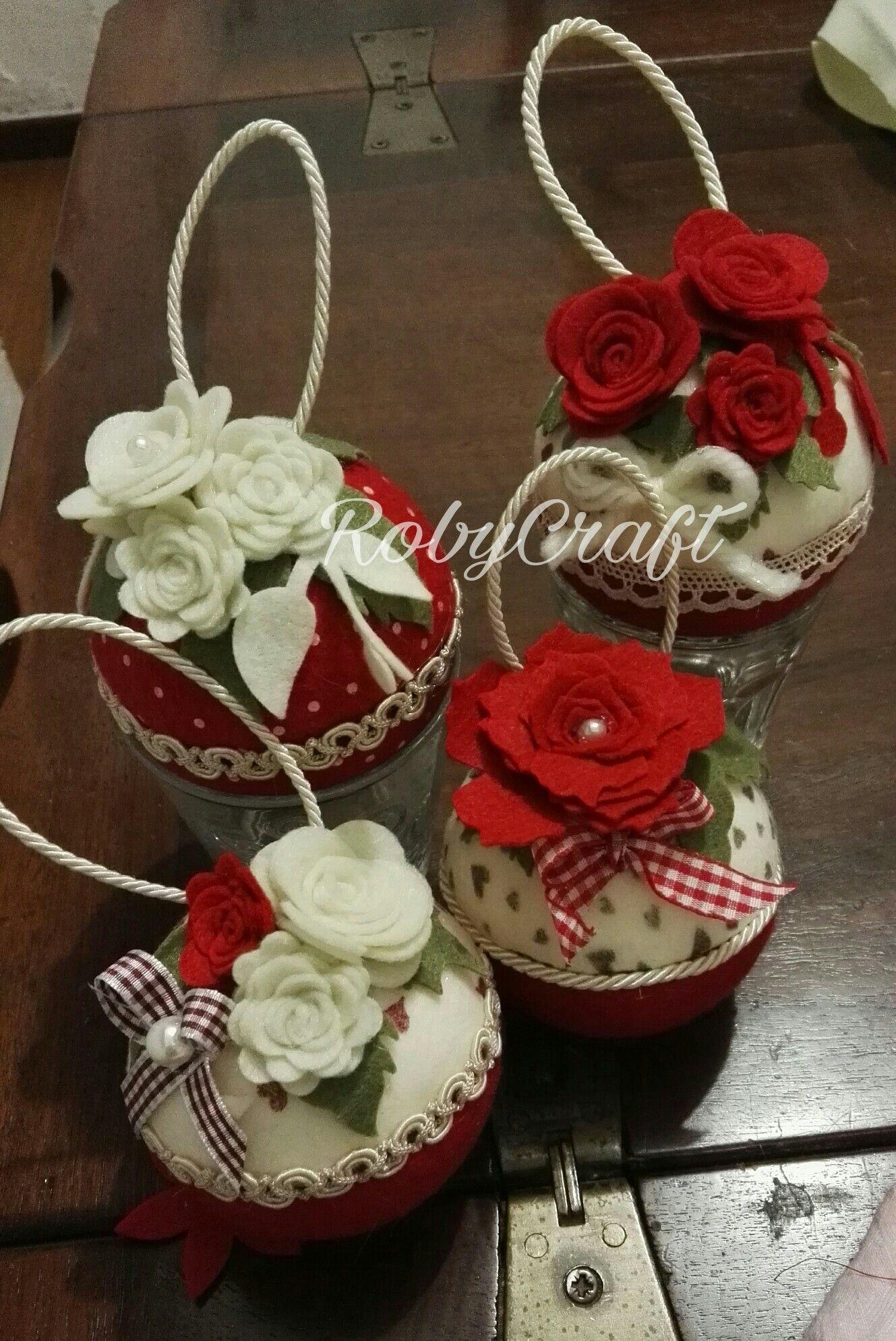 Palle di natale decori natalizi decorazioni natalizie for Ornamenti casa