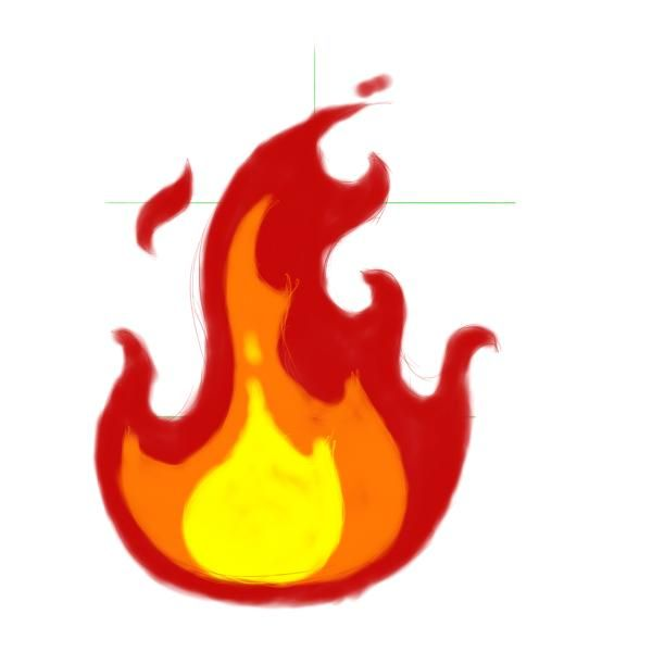 fire drawings design - photo #11