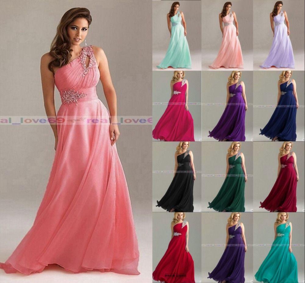 Lujo Rhinestone Bridesmaid Dresses Elaboración - Colección del ...