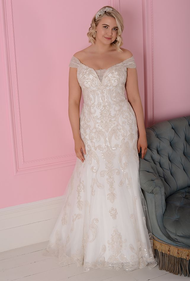 bd57d983713b5 Stunning from White Rose is one of the reduced designer wedding dresses  from Your Little Secret Bridal Boutique, in Petersfield  Hampshire,Surrey,Sussex ...