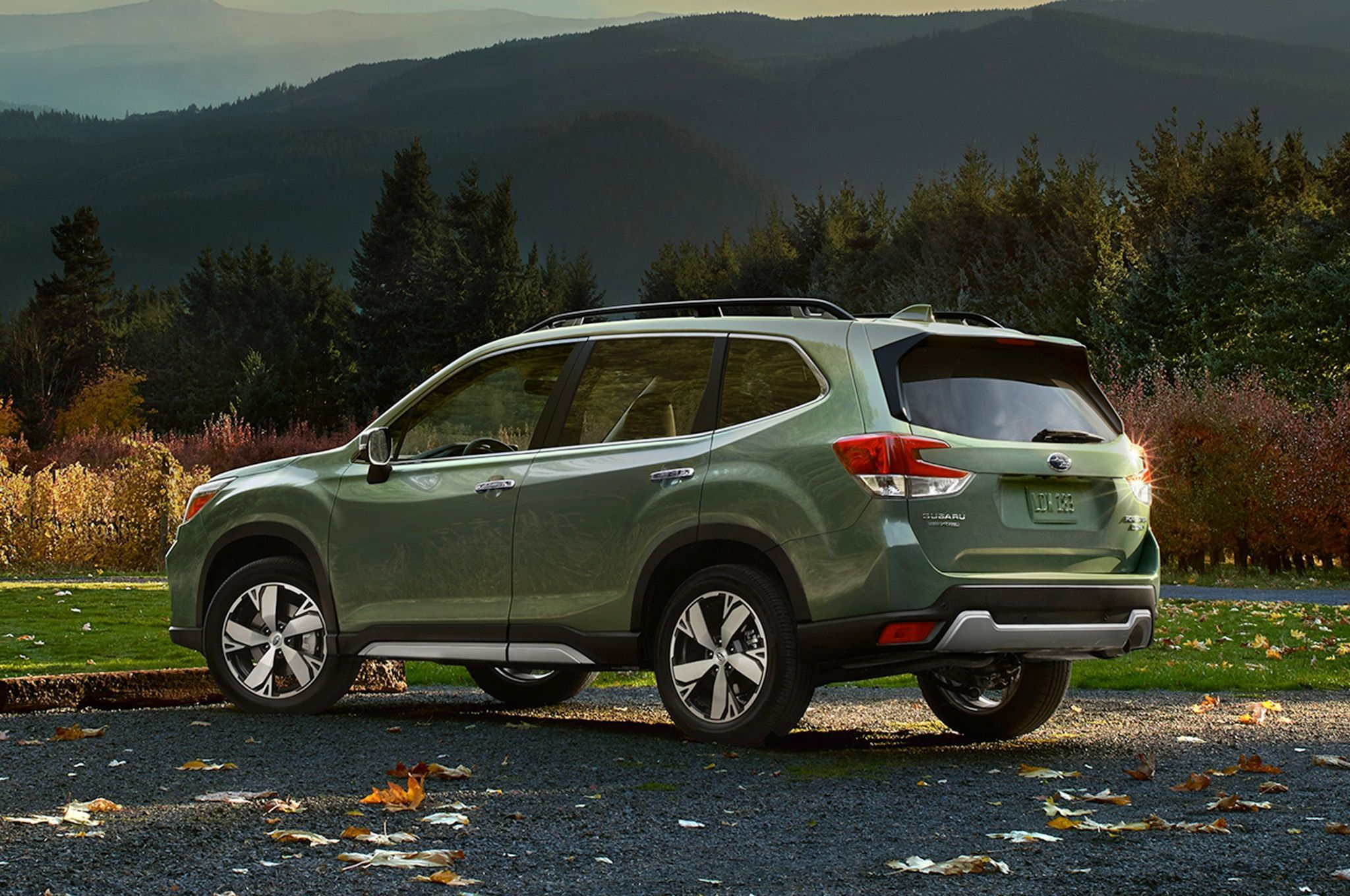 2020 Subaru Forester Jasmine Green First Drive In 2020 Subaru Forester Subaru Xt Subaru