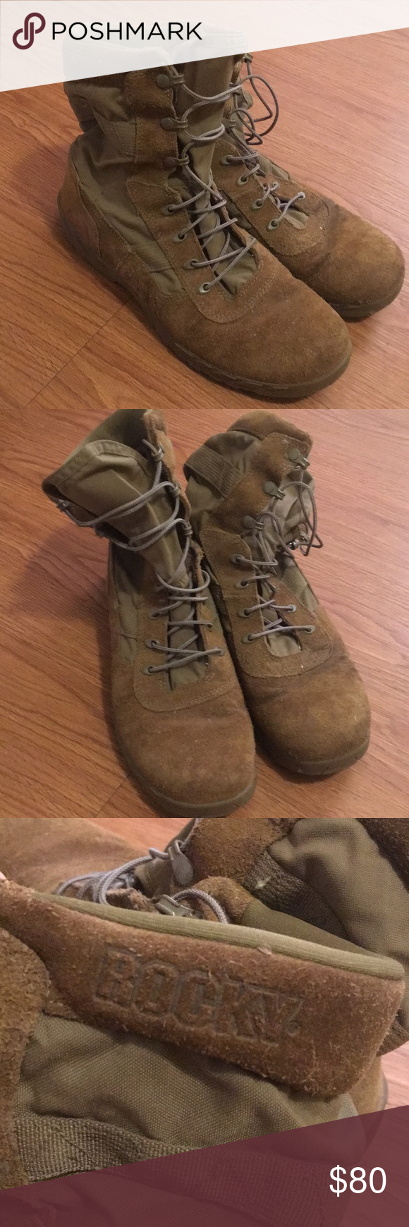 Rocky C7 Military Boots Rocky C7 Military Boots Size 11 Coyote Brown Ar 670 1 Compliant Super Lightweight Too Big For Me Boots Military Boots Shoe Boots