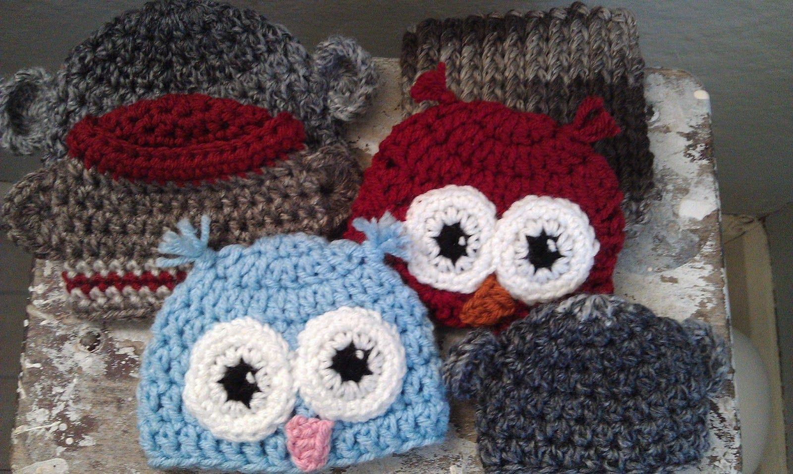 Niccupp Crochet Preemie Owl Hat Free Crochet Pattern Premies