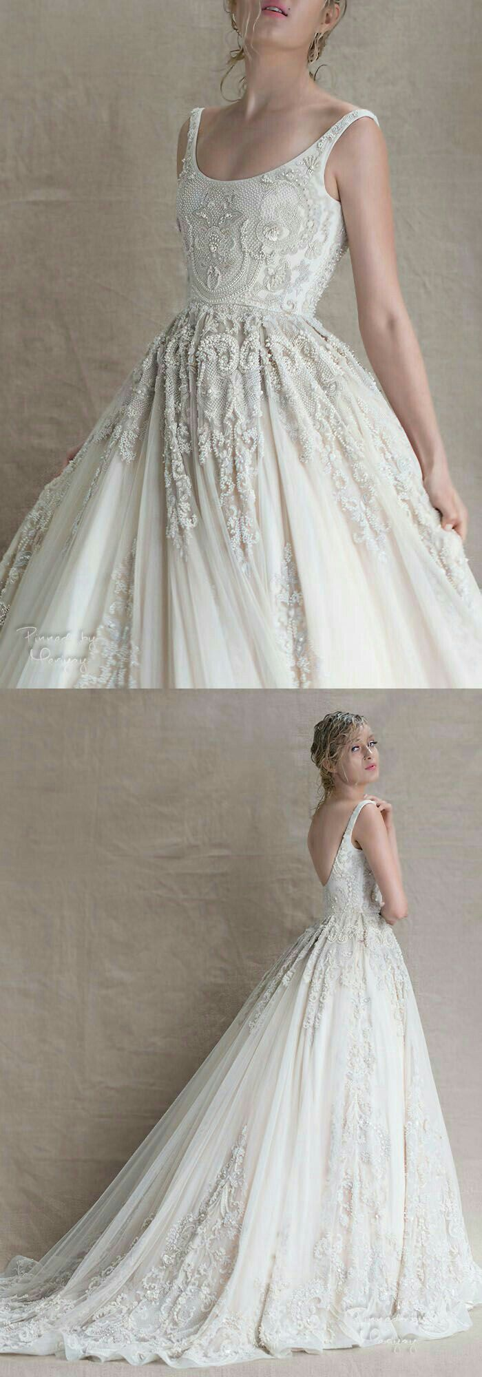 If this had better sleeves, it would be the most beautiful dress ...