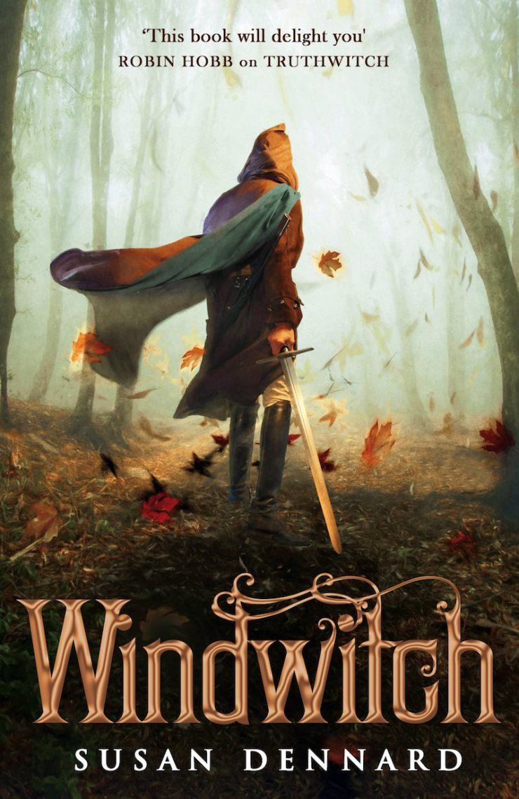 UK #CoverReveal  Windwitch (The Witchlands, #2) by Susan Dennard