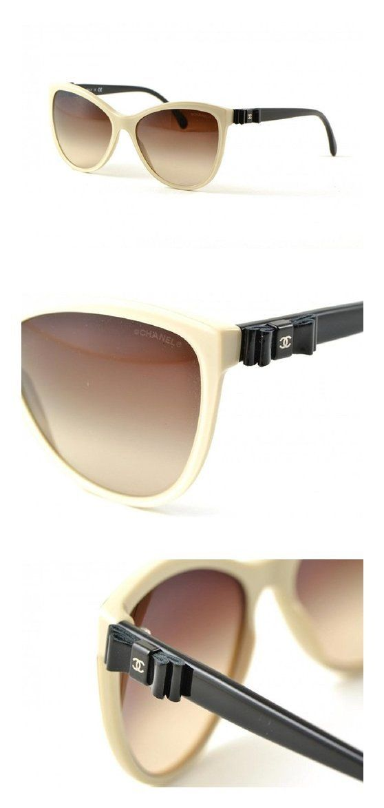 Chanel 5281q Beige Frame Brown Lenses #apparel #eyewear #chanel ...