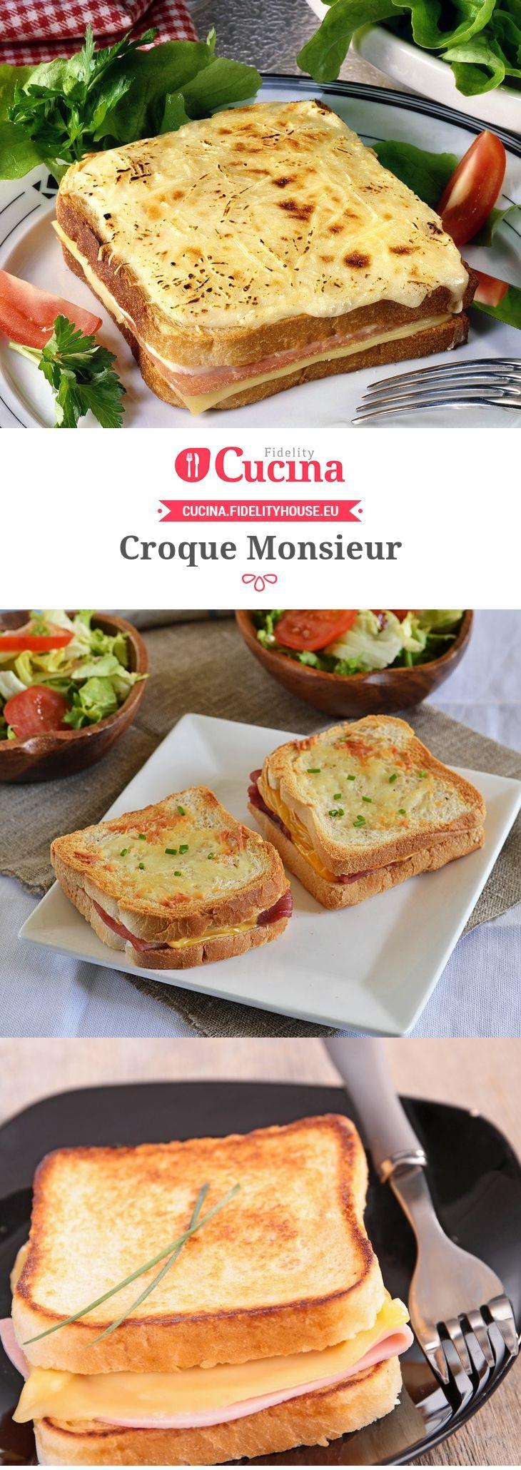 Ricetta Croque monsieur - Fidelity Cucina | Ricetta