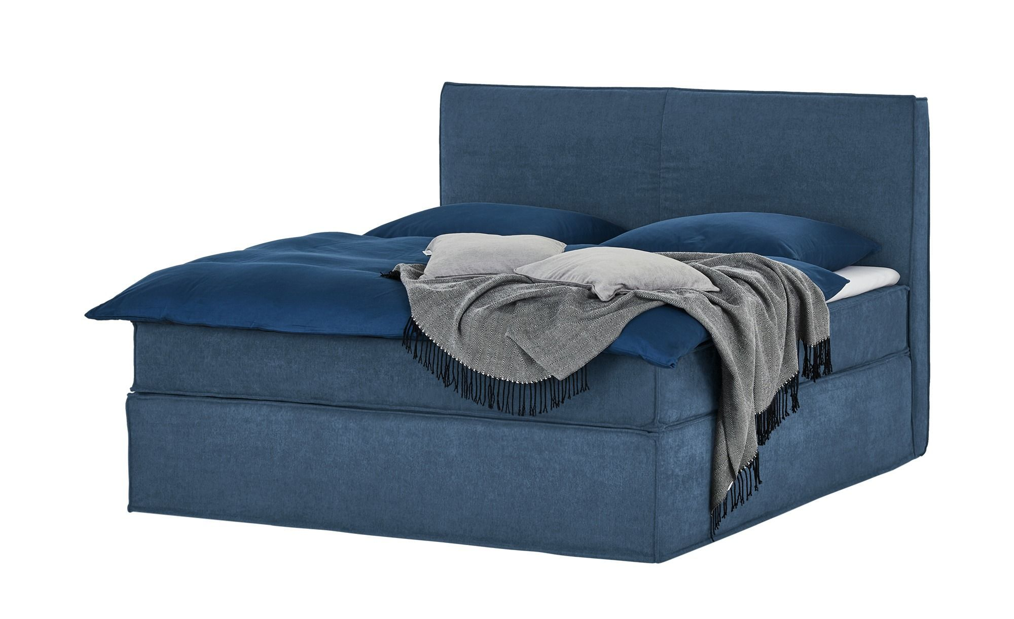 Boxspringbett Boxi Gefunden Bei Mobel Hoffner Bei Boxi Boxspringbett Diyhomelivingroom In 2020 Box Spring Bed Bed Springs Blue Bedding