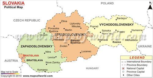Slovakia Map | Christmas Unit | Pinterest