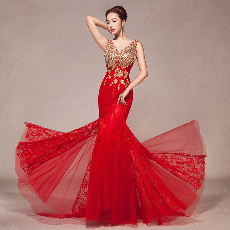 Cheap Evening Dresses on Sale at Bargain Price, Buy Quality Evening Dresses from China Evening Dresses Suppliers at Aliexpress.com:1,Neckline:V-Neck 2,Item Type:Evening Dresses 3,Sleeve Length:Sleeveless 4,Material:Polyester 5,Fabric Type:Chiffon