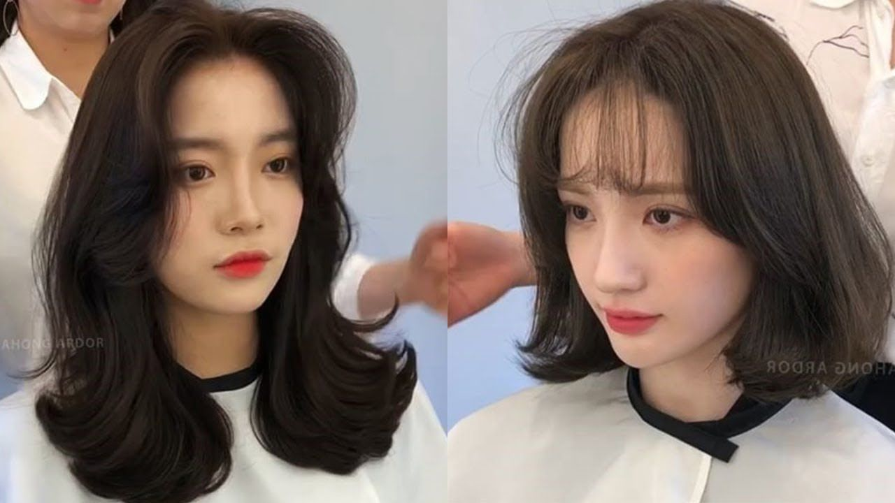 Easy Cute Korean Hairstyles 10 😂 Amazing Hair Transformation