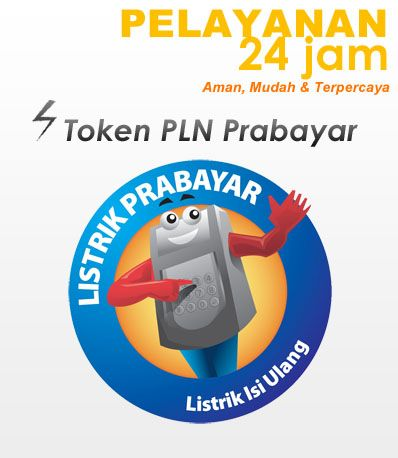 Pulsa Online 24 Jam, Voucher Game serta tersedia Token PLN ...
