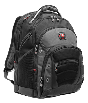 My Wenger Business Gear Backpack is the best laptop carry-on I ve ever used.  Lots of storage 2adde0e16871f