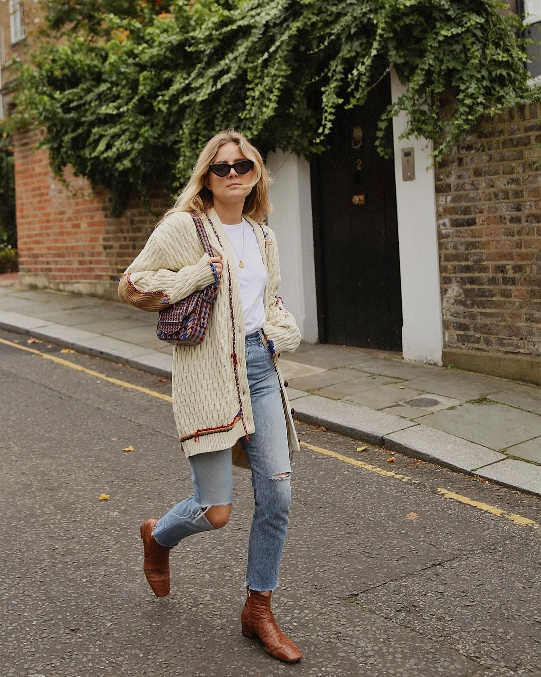 f61a2920944 Lucy Williams taking one step at a time in our  Nanushka Clarence boots