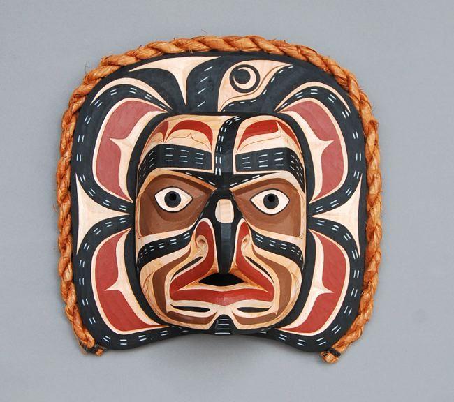 Numas Mask  Mervyn Child, Kwakwaka'wakw Nation