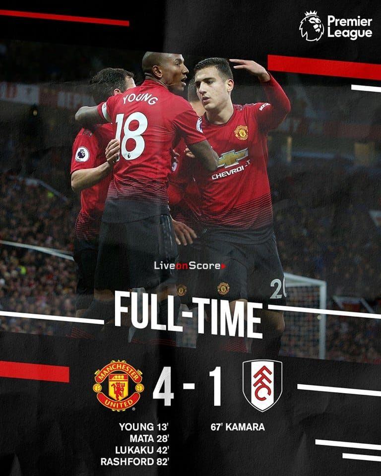 Manchester United 4 1 Fulham Full Highlight Video Premier League 2018 2019 Allsportsnews Foot Premier League Manchester United Football Manchester United