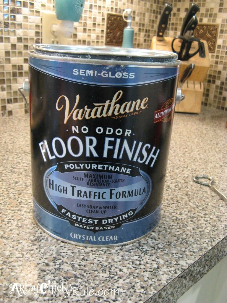 Painting kitchen cabinets polyurethane finish - Kitchen Island Makeover Duck Egg Blue Chalk Paint Use Floor Finish To Seal