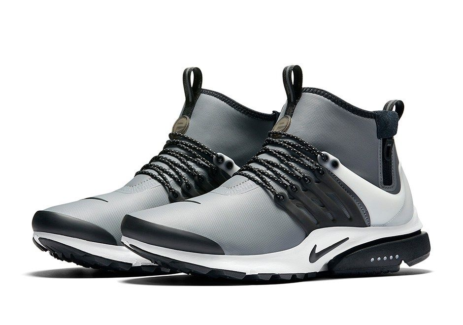 Nike Officially Unveils The Air Presto Mid Utility Nike Air Presto Nike Presto Nike