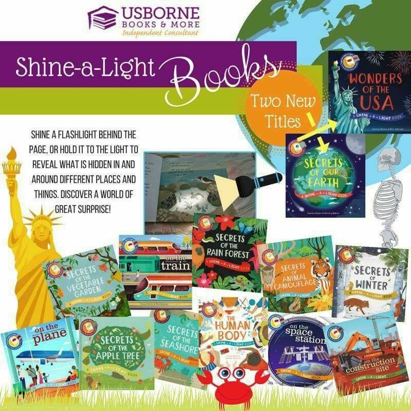 Usborne Shine A Light Books Extraordinary Usborne Books Incredible Shinealight Series Wonderful Story 2018