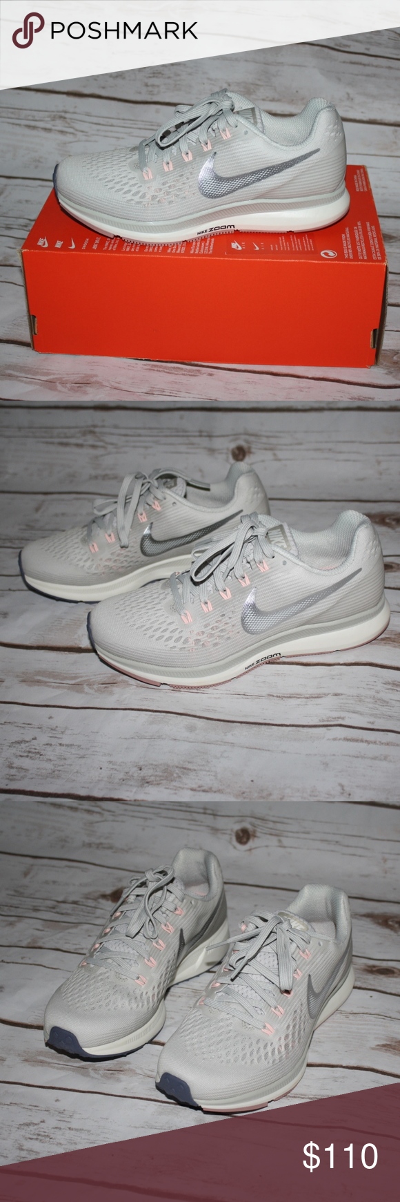 492767bcac69 New Nike Air Zoom Pegasus 34 Running Shoes ✨Brand New With Box Without Lid✨  💫✨Price is Firm✨💫 Built for beginners and experienced runners