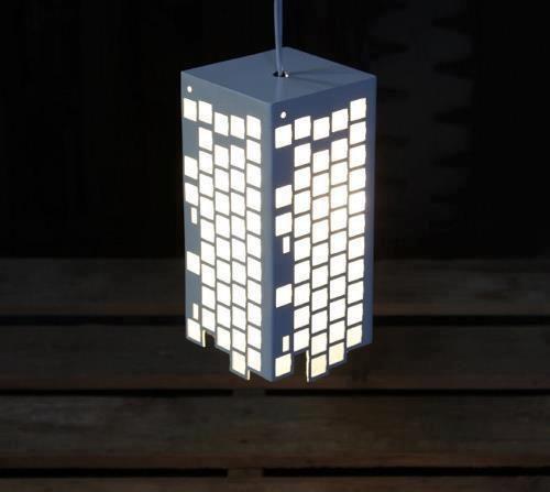 luminaria com estrutura dos teclados recycled recycled lamp rh pinterest com