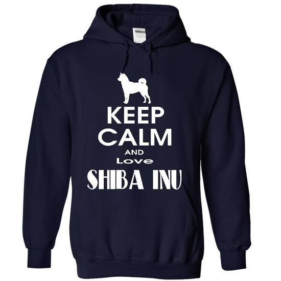 Keep calm and love ShiBa Inu T-Shirt Hoodie Sweatshirts ioo
