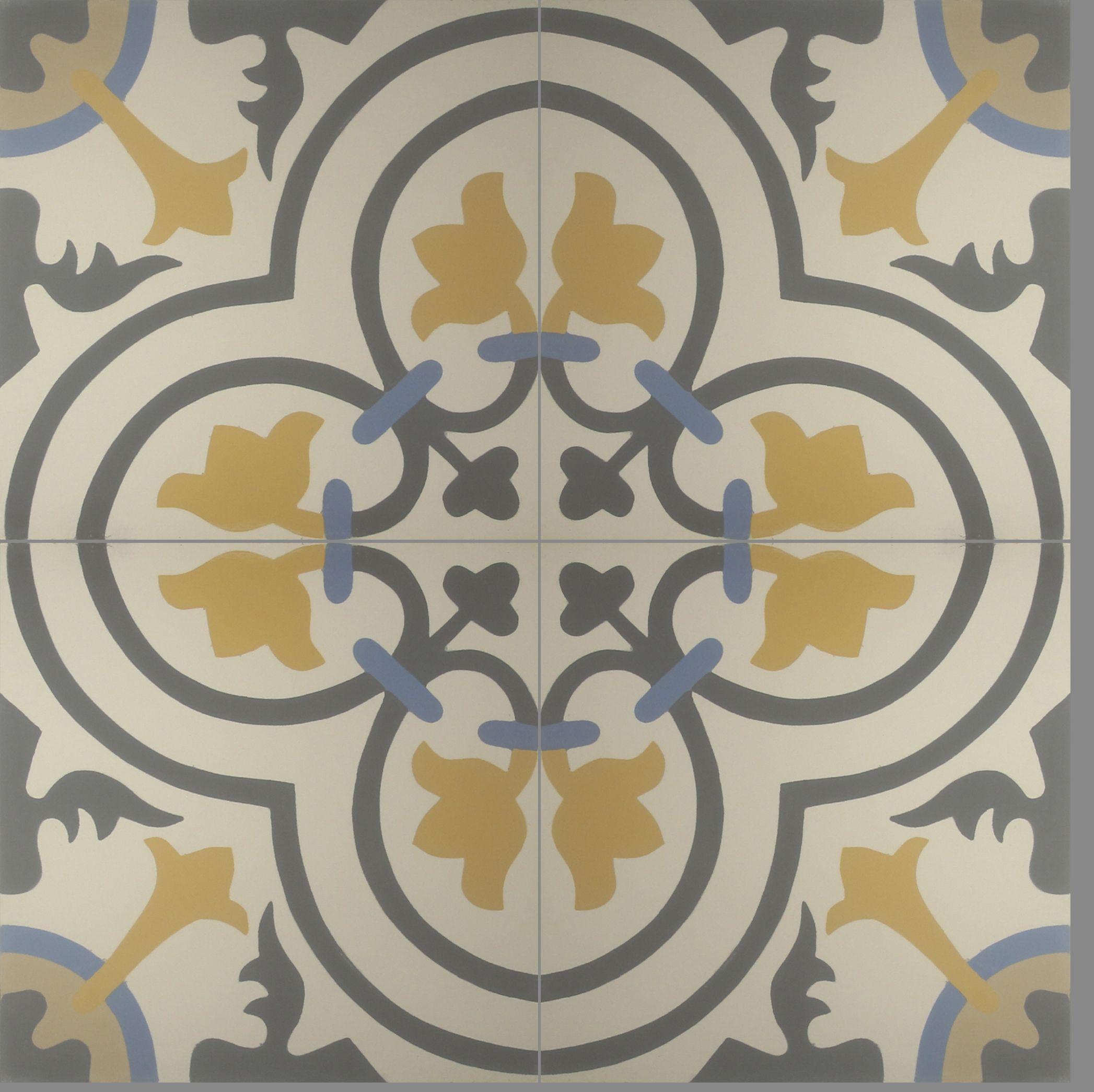 Clásico #diseño de #ladrillo y #piso #Cluny. En sus tonalidades azul ...