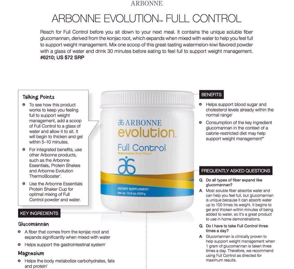 Full Control Arbonne Arbonne Weight Loss Help