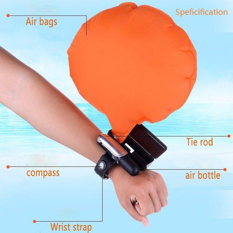 Wearable Wristband Water Safety Protect Wrist Life Buoy Escape